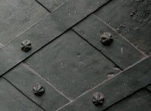 Di piastra metallica con piatti torti Fotografia Stock Libera da Diritti