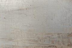 Di piastra metallica grigio Fotografia Stock