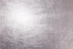 Di piastra metallica industriali con i graffi e la luce multipli riflettono Immagini Stock