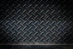 Di piastra metallica nero sporco Fotografia Stock Libera da Diritti