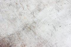Di piastra metallica Scratchy Immagini Stock