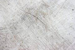 Di piastra metallica Scratchy Fotografia Stock Libera da Diritti