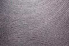Di piastra metallica spazzolato Fotografia Stock