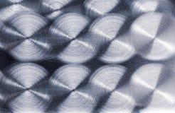 Di piastra metallica spazzolato Immagine Stock Libera da Diritti