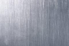 Di piastra metallica spazzolato Immagine Stock