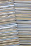 Di piastra metallica strutturato d'argento Immagine Stock
