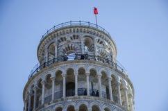 Di Pisa de Torre, pendente de Torre Foto de Stock