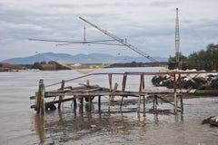 Di Pisa del puerto deportivo - sull'Arno de Retoni Fotos de archivo