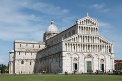Di Pisa van Duomo stock fotografie