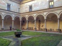 Di Pontida Abbazia di Сан Giacomo стоковая фотография rf