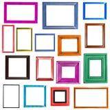 di raccolta colorata Multi delle cornici Fotografia Stock