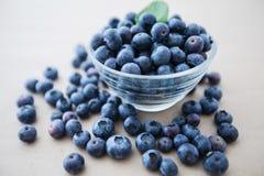 Di recente alimento dell'antiossidante della frutta del mirtillo fotografie stock