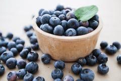 Di recente alimento dell'antiossidante della frutta del mirtillo immagine stock libera da diritti