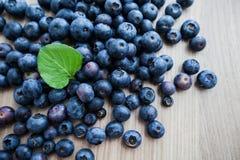Di recente alimento dell'antiossidante della frutta del mirtillo immagini stock libere da diritti