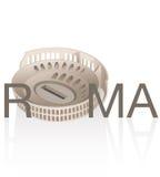 Di Roma de Colosseo illustration stock