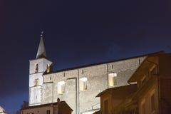 Di Roma de Fabrica por noche Imagen de archivo libre de regalías