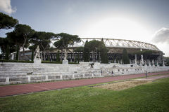 Di Roma di Stadio Olimpico Fotografia Stock Libera da Diritti