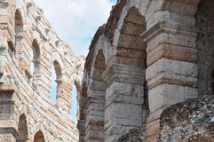 Di romani Verona dell'arena dell'anfiteatro Fotografia Stock