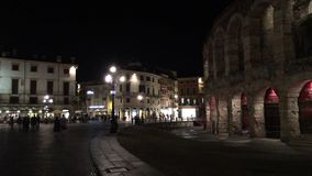 Di romanos Verona - Italia de la arena del amphitheatre metrajes