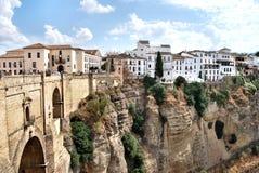 Di Ronda - Spagna de Città Imagens de Stock