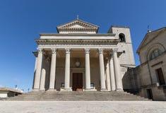 Di Saint-Marin de basilique photo libre de droits