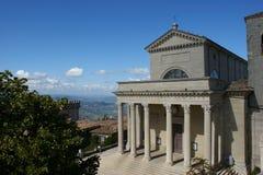 Di Saint-Marin de basilique images libres de droits