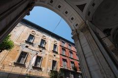 Di San Gennaro del Duomo de Nápoles Imagenes de archivo