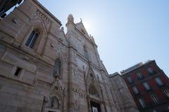 Di San Gennaro del Duomo de Nápoles Fotografía de archivo libre de regalías