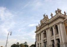 Di San Giovanni de la basílica en Laterano en Roma fotos de archivo libres de regalías