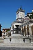 Di San Giovanni del Loggia con la fontana della priorità alta Fotografia Stock