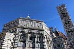 Di San Giovanni, Firenze di Battistero Fotografia Stock Libera da Diritti