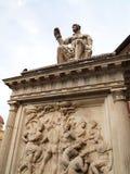 Di San Lorenzo de mercato d'Al de Statua Photos stock