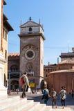 Di San Lorenzo de Rotonda et orologio de ` de vallon de torre Image stock