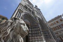 Di San Lorenzo di Cattedrale Fotografia Stock Libera da Diritti