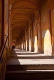 Di San Luca, Bologna del portico Fotografia Stock Libera da Diritti