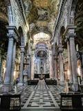 Di San Siro базилики, Генуя, Италия стоковое изображение rf