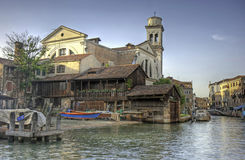 di San squero trovaso Venice Zdjęcia Royalty Free