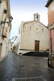 Di Santa Chiara Oristano Sardaigne Italie de Chiesa Photographie stock libre de droits
