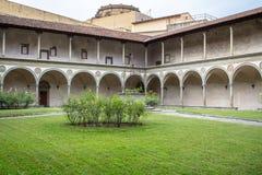 Di Santa Croce базилики в Флоренсе Стоковые Фото
