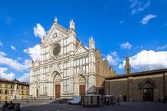 Di Santa Croce базилики, Флоренс, Италия Стоковое Изображение