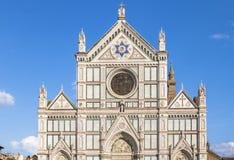 Di Santa Croce базилики, Флоренс, Италия Стоковое Изображение RF