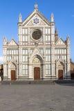 Di Santa Croce базилики, Флоренс, Италия Стоковые Фотографии RF