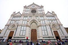 Di Santa Croce de la basílica Imagenes de archivo