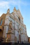 Di Santa Croce de la basílica Imagen de archivo