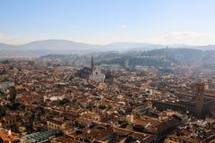 Di Santa Croce della basilica di Firenze, Italia Fotografia Stock