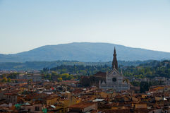 Di Santa Croce, Florence, Italie de basilique Photo libre de droits