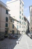 Di Santa Croce, Génova de la plaza Imágenes de archivo libres de regalías