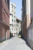Di Santa Croce, Génova de la plaza Foto de archivo libre de regalías