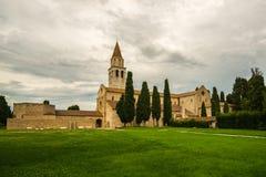 Di Santa María Assunta de la basílica en Aquileia Imagenes de archivo