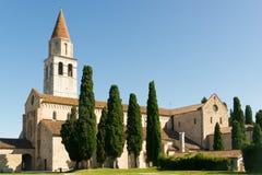 Di Santa María Assunta de la basílica en Aquileia Fotos de archivo